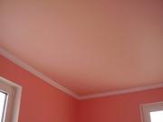 Матовые натяжные потолки монтаж